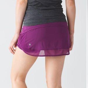 Lululemon Hotty Hot Skirt II - Pink